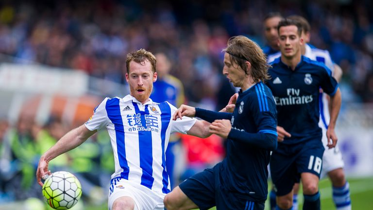 Real Sociedad played out a tight encounter with Real Madrid