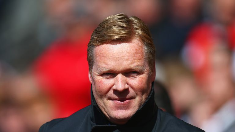 Southampton boss Ronald Koeman is the favourite to be the next Everton manager