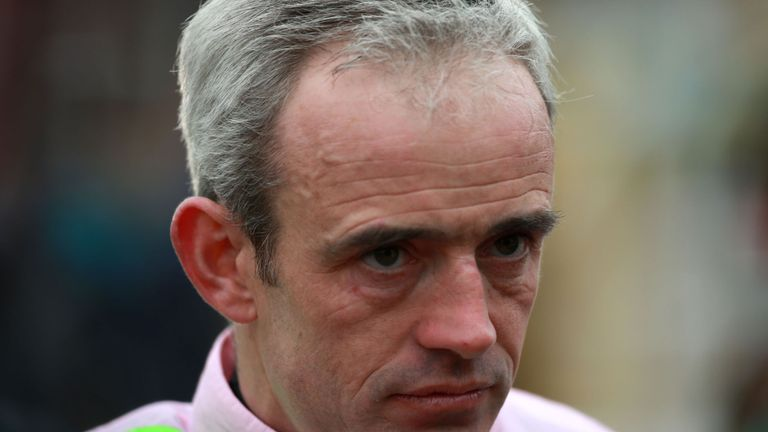 Ruby Walsh, who will miss Saturday's Crabbie's Grand National