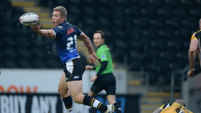 Chris Green is staying with Hull FC