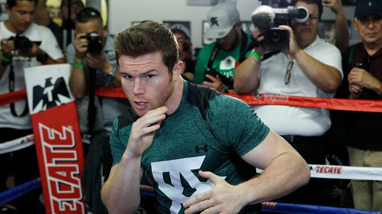 Alvarez is being tipped to win by Bernard Hopkins