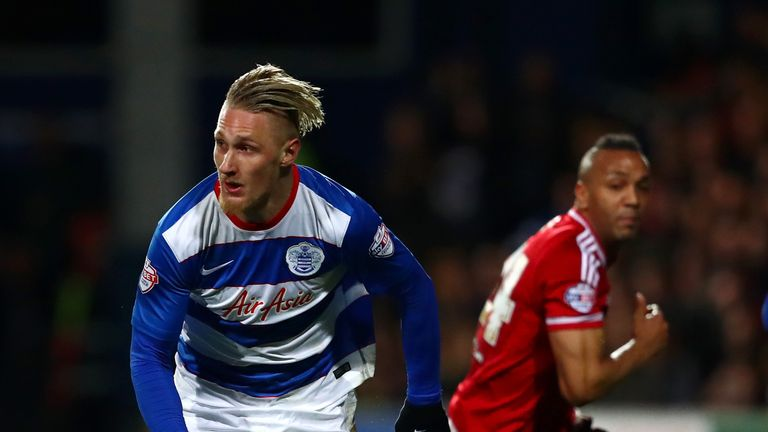 Sebastian Polter had a goal ruled out for Queens Park Rangers