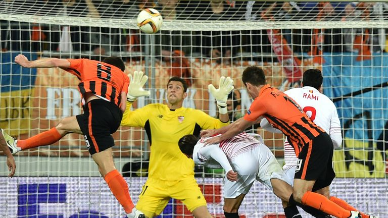 Shakhtar Donetsk gave themselves a fighting chance with two goals in the first leg