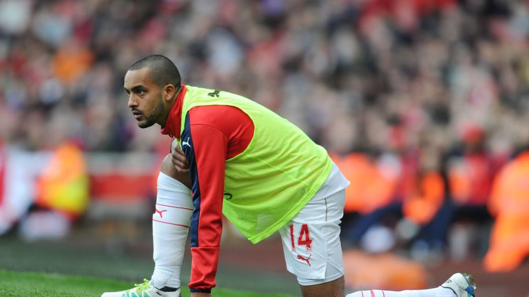Walcott has not been trusted with too much game time in 2016