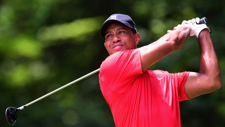 Tiger's last competitive round was at the Wyndham Championship in August last year