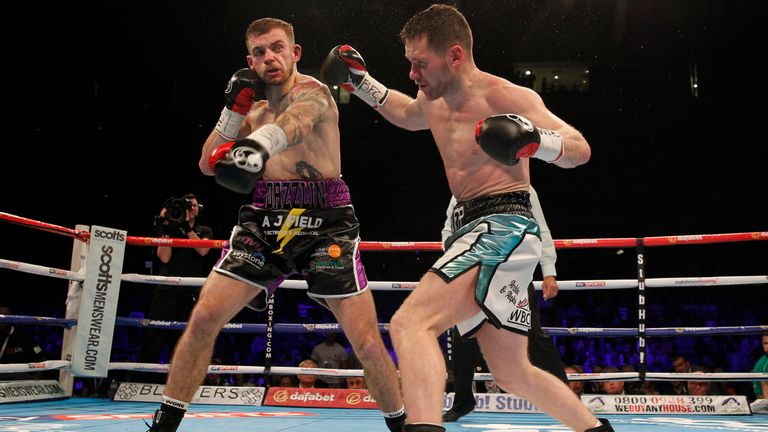 Tom Doran's vicious left hook had Keeler down twice in as many rounds