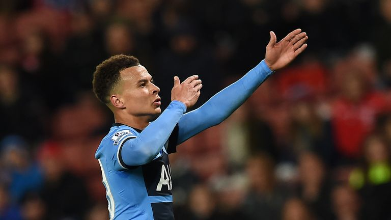 Dele Alli scored twice but could have had a hat-trick