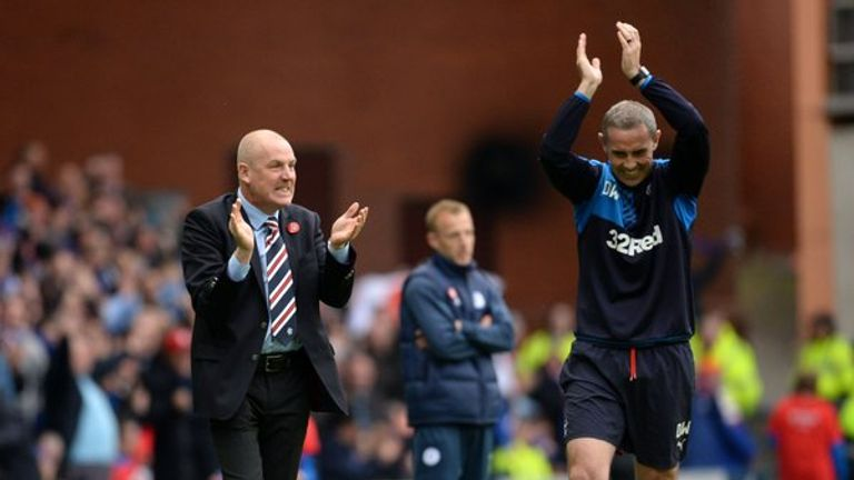 Rangers appointed Mark Warburton and David Weir at the start of 2015/16 season