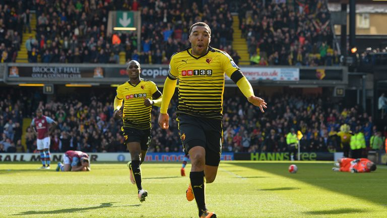 Troy Deeney has been the subject of a bid from Leicester