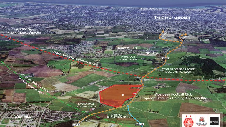 Aberdeen's proposed site