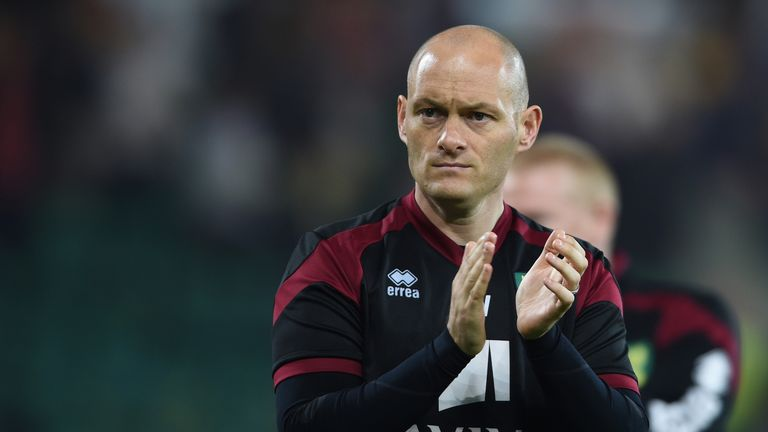 Alex Neil and his Norwich squad will be in the Championship next season