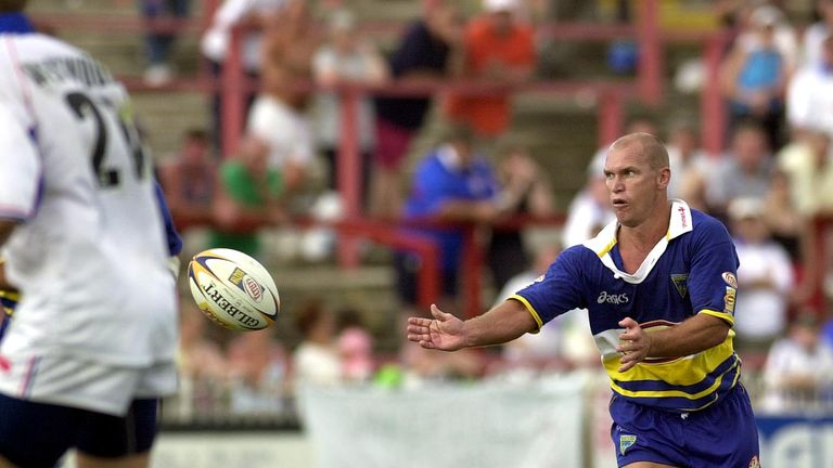 Alfie Langer had a stint with Warrington from 2000-2001