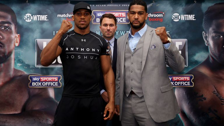 Anthony Joshua told Dominic Breazeale to show more respect
