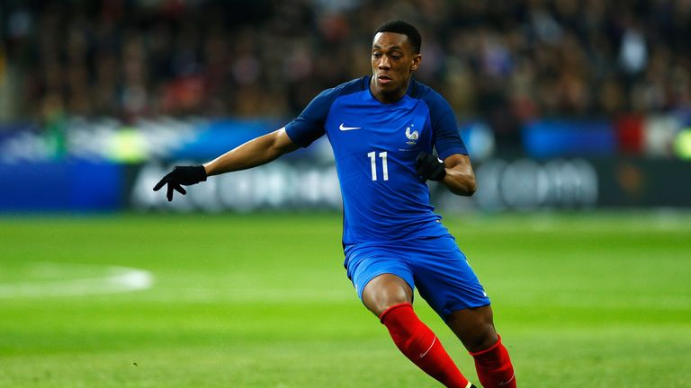 Anthony Martial will be a key man for France