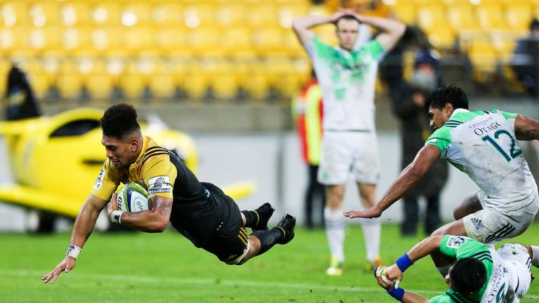 Ardie Savea scored the match-winning try for the Hurricanes and made our team of the week