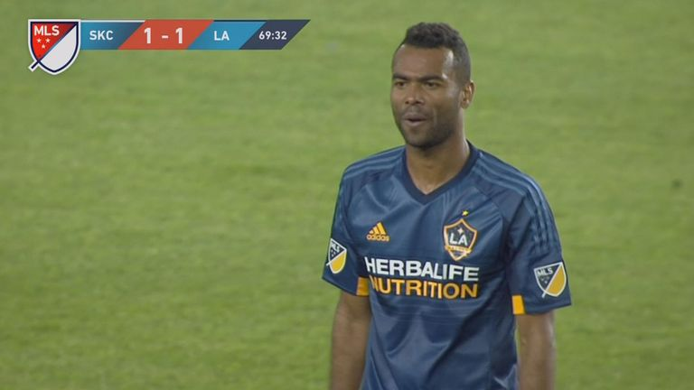 Ashley Cole has now received two red cards in his MLS career