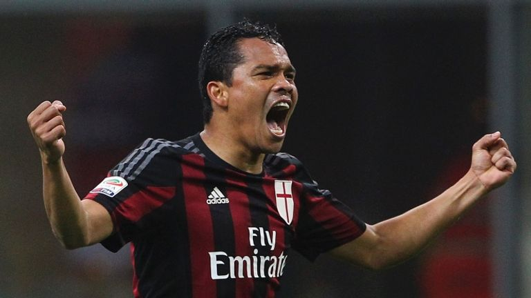 West Ham are hoping to sign foward Carlos Bacca from AC Milan