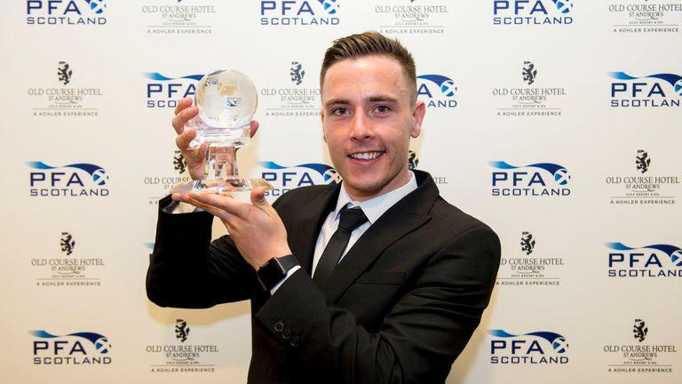 McKay took the Goal of the Season honours for his wonder strike against Celtic