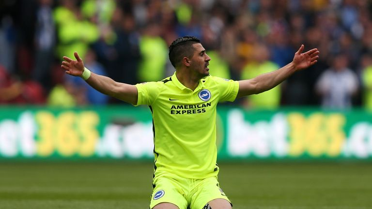 Brighton finished third in the Championship this season