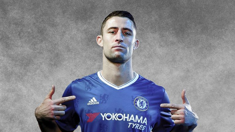Gary Cahill was appearing at an SSE Next Generation event at Surrey Sports Park