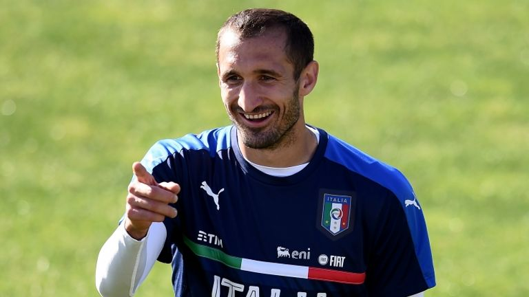 Chiellini has six months remaining on his Juventus contract, meaning he is free to discuss a move with other clubs