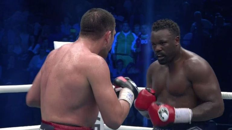 Dereck Chisora was happy to try and draw Kubrat Pulev in