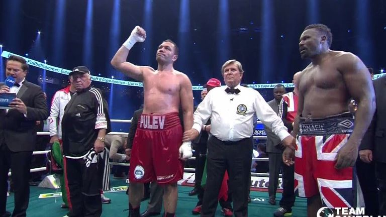 Dereck Chisora knew he had done his best but Kubrat Pulev won the decision.