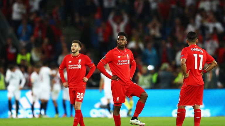 Liverpool collapsed in the second half against Sevilla