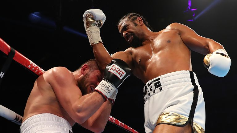 David Haye has enjoyed first-round and second-round wins since returning