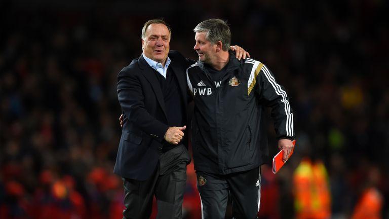 Advocaat kept Sunderland in the Premier League before resigning in October 2015