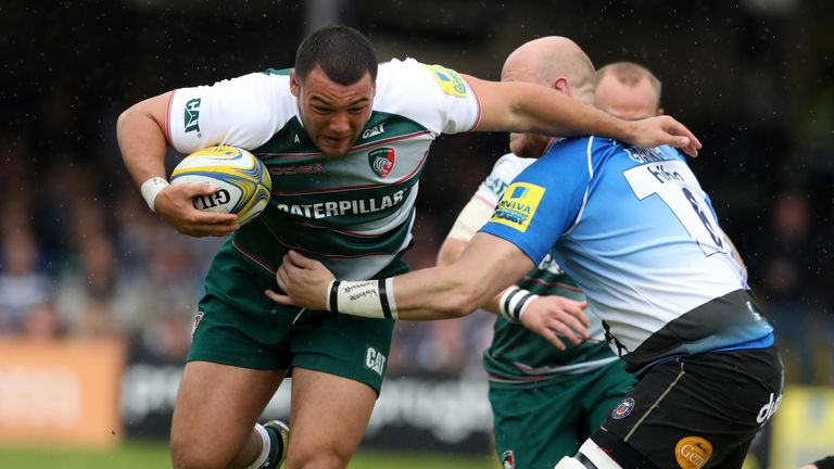 Ellis Genge of Leicester is a surprise call-up to the England squad