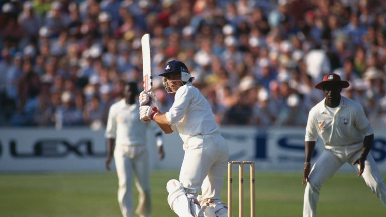 Mark Ramprakash was one of a number of talented England batsmen in the 90s