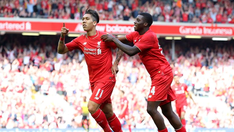 Roberto Firmino  scored Liverpool's second in the 2-0 victory over Watford