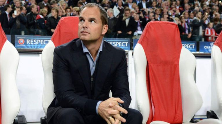 Former Ajax boss Frank de Boer has been linked with the vacant Everton job