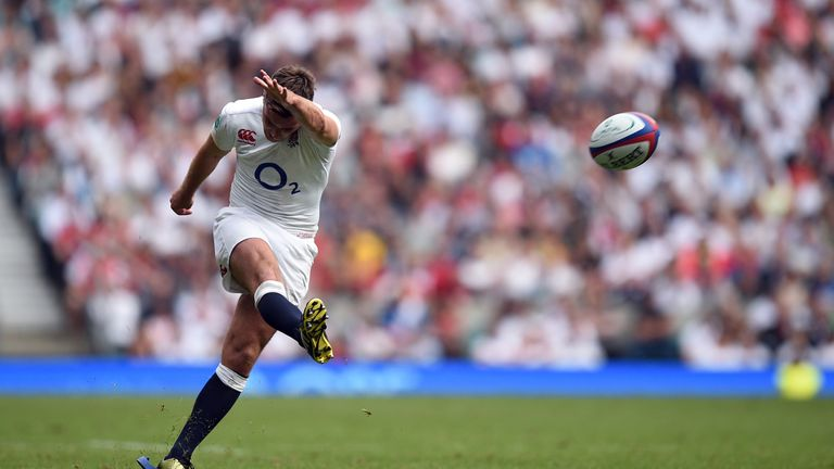George Ford missed six of his seven kicks at goal in England's win over Wales