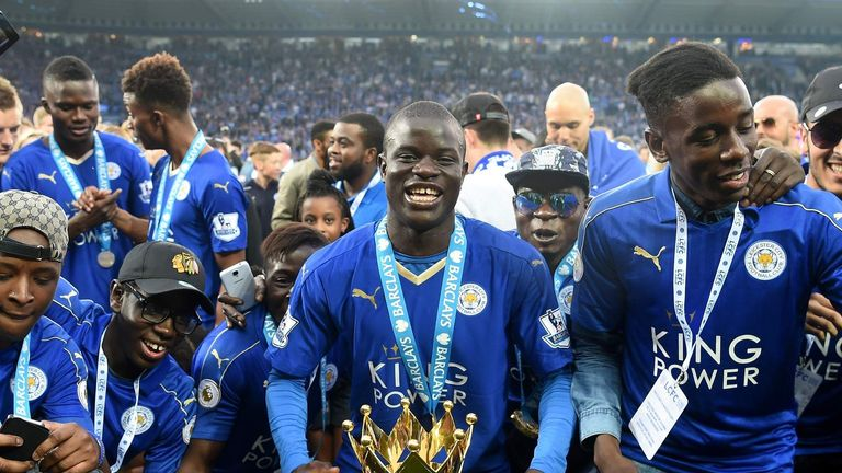 Leicester City beat Everton at the King Power Stadium