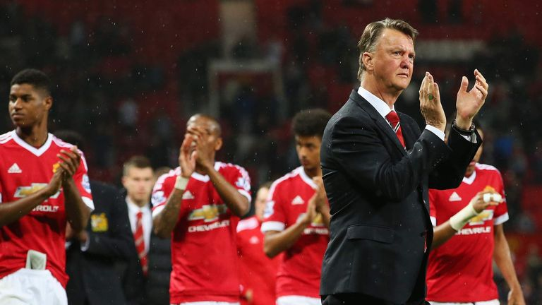 United finished fifth in the Premier League under Louis van Gaal