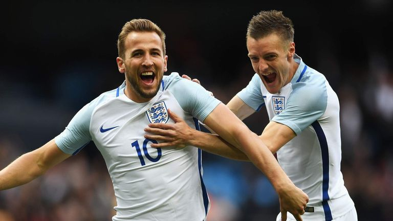 Harry Kane and Jamie Vardy were the Premier League's two top scorers