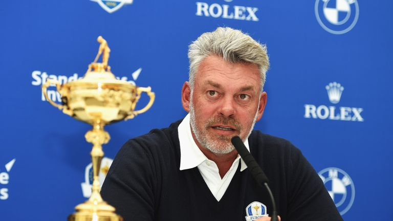 Ryder Cup skipper Darren Clarke has struggled for form this year