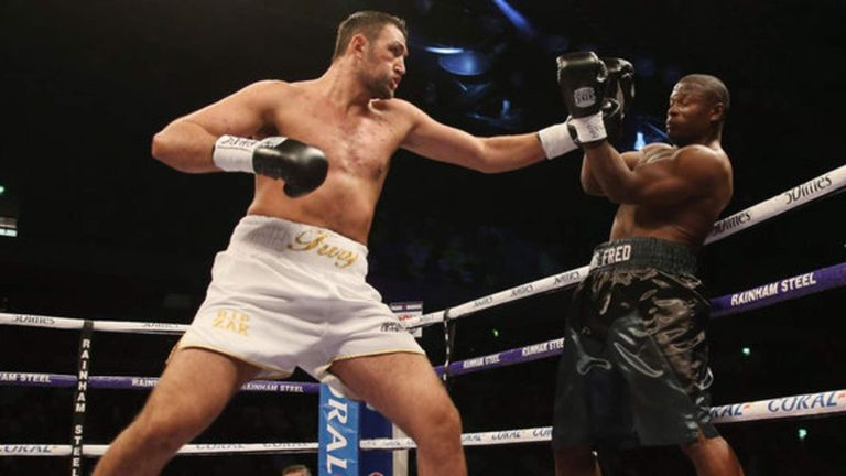 Undefeated Hughie Fury (L) faces his biggest test to date