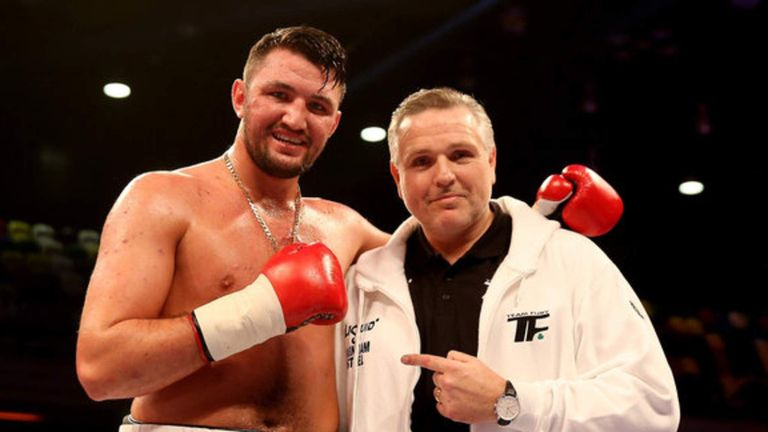 Peter Fury says his son Hughie wants to earn his ranking as a top heavyweight