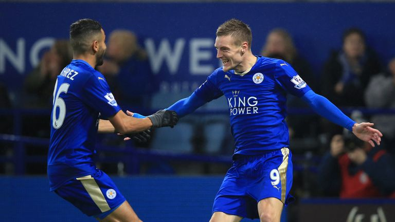 Jamie Vardy's Leicester will be involved in the ICC
