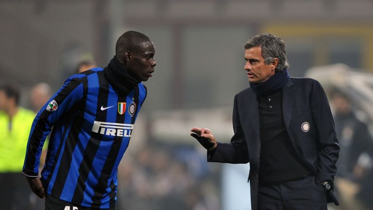 The striker had a strained relationship with Jose Mourinho during his time at Inter Milan
