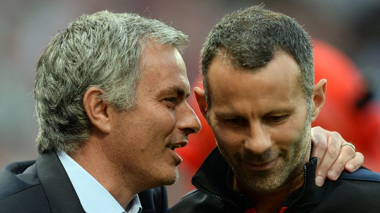 Giggs is frustrated at being overlooked for the Man Utd job in favour of Mourinho, according to sources