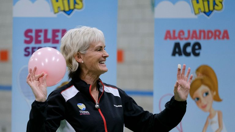 Judy Murray advocates more women in sport