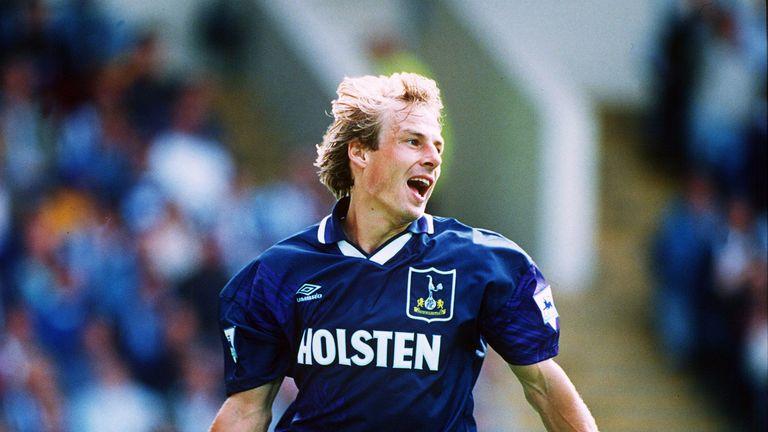 Klinsmann scored 20 Premier League goals in 1994/95