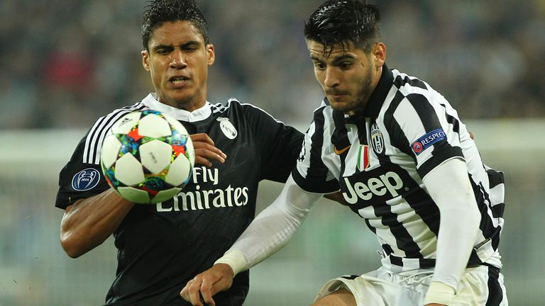 Raphael Varane and Alvaro Morata were given a chance by Mourinho at Real Madrid