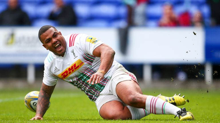 Harlequins prop Kyle Sinckler is in line to receive an England call-up