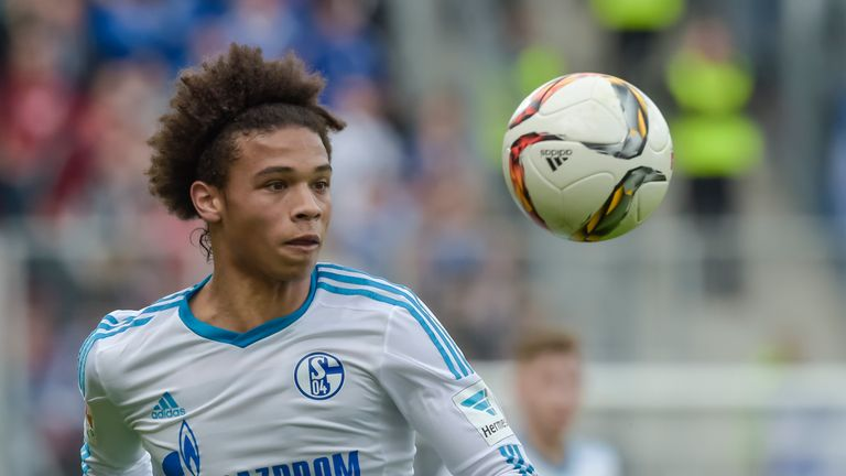 Schalke midfielder Leroy Sane is one of Germany's most exciting young prospects