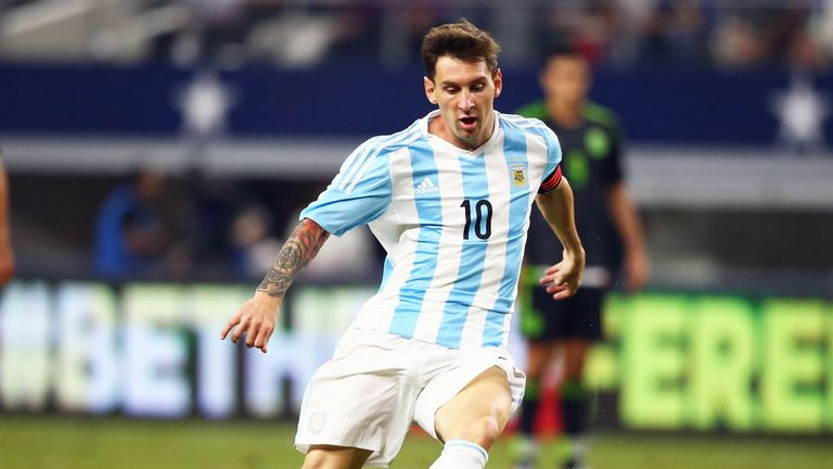 Messi is likely to be key to Argentina's hopes of ending a 23-year trophy drought